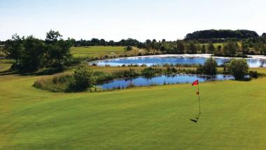 Late summer golf