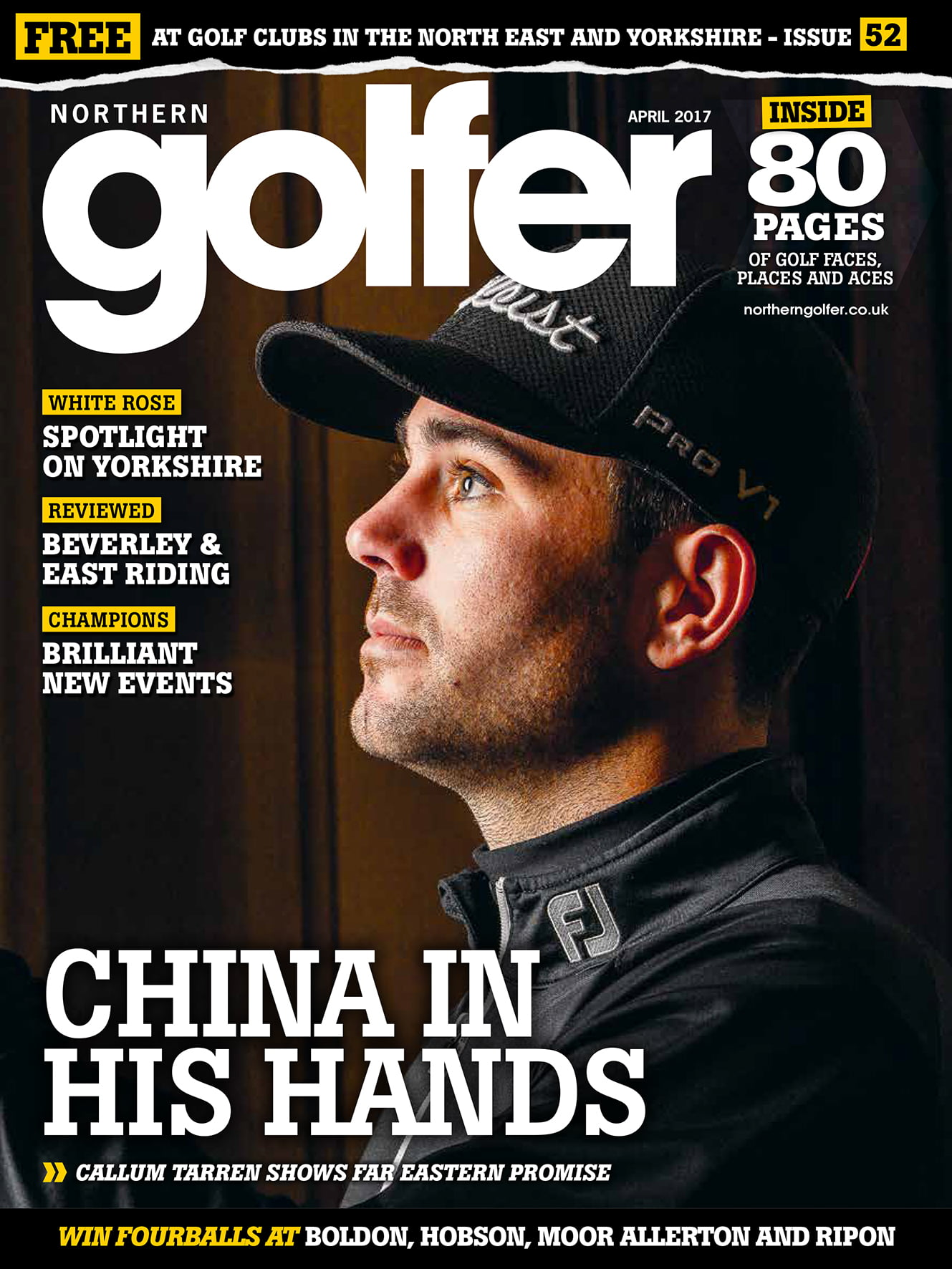 Golfer issue 52-April 2017