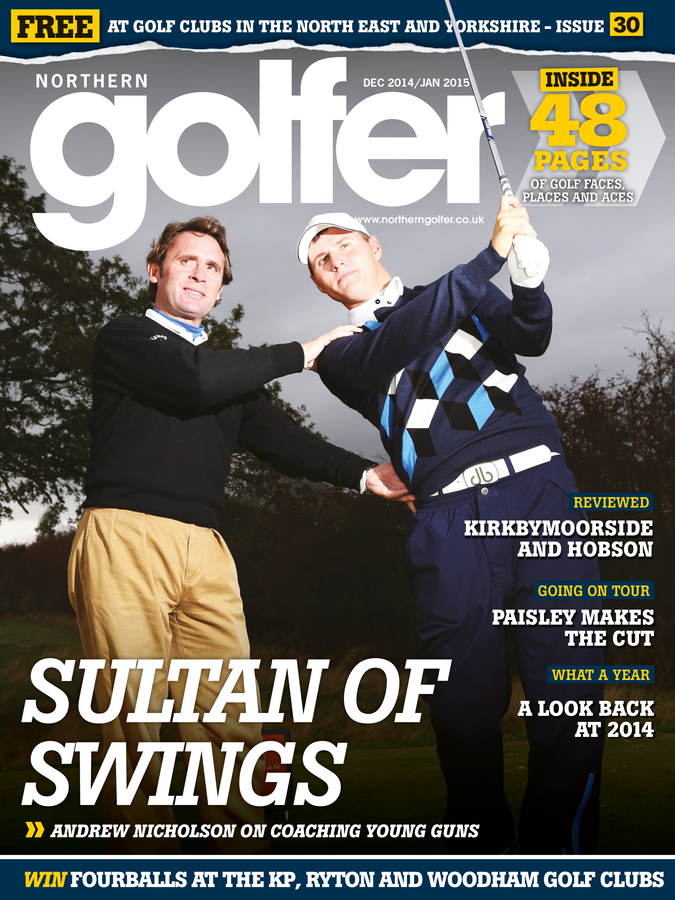 Golfer issue 30-December/January 2015/16