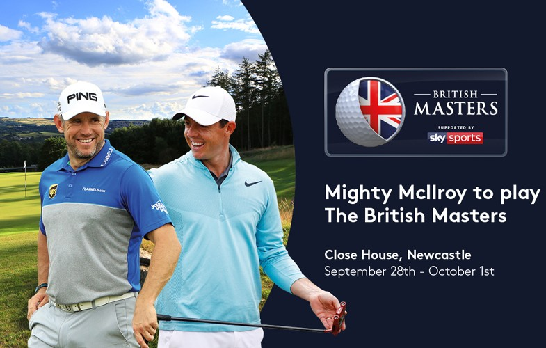 McIlroy joins British Masters field