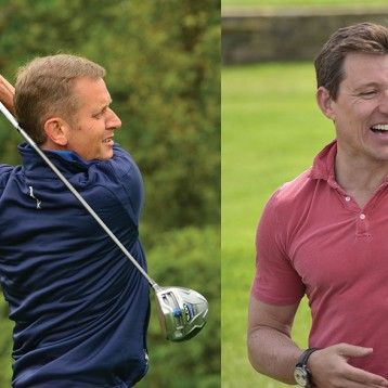 Jeremy Kyle and Ben Shephard