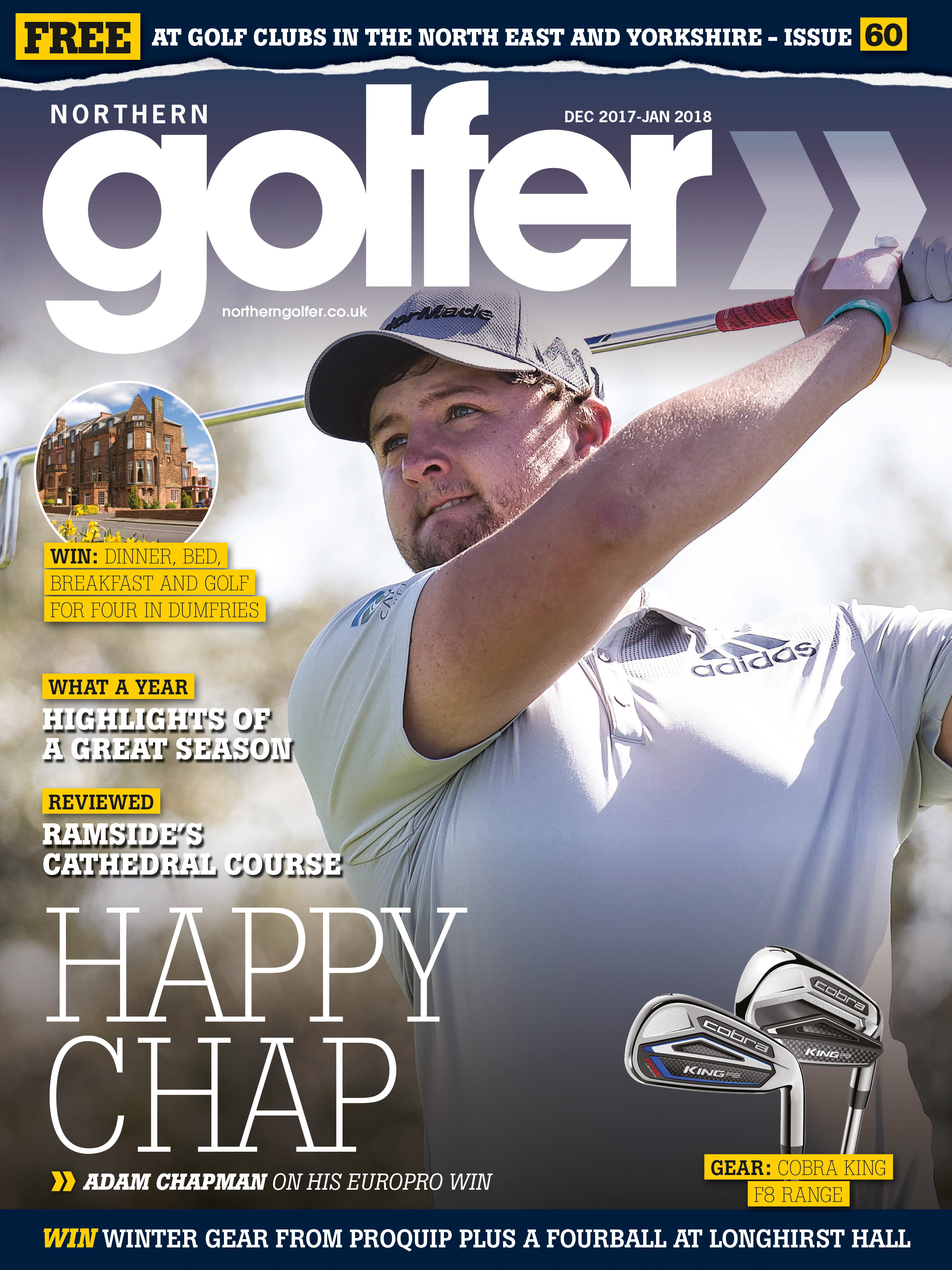 Golfer issue 60 - Dec 2017/Jan 2018