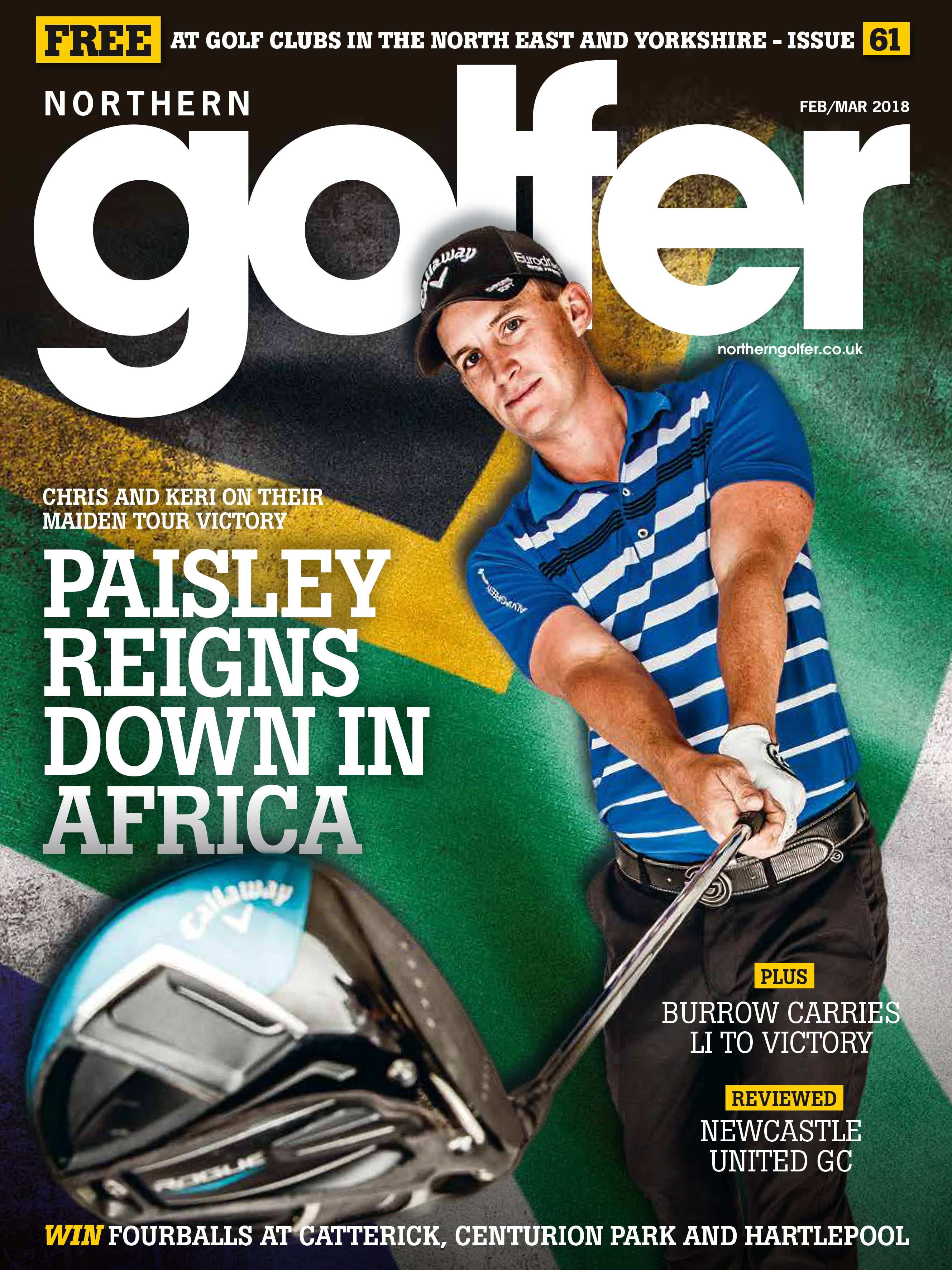 Golfer issue 61 - Feb/Mar 2018