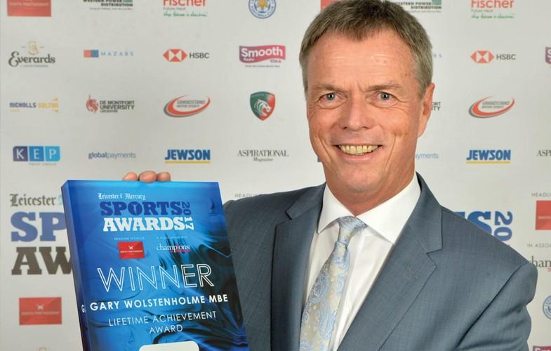 Lifetime achievement award for Wolstenholme