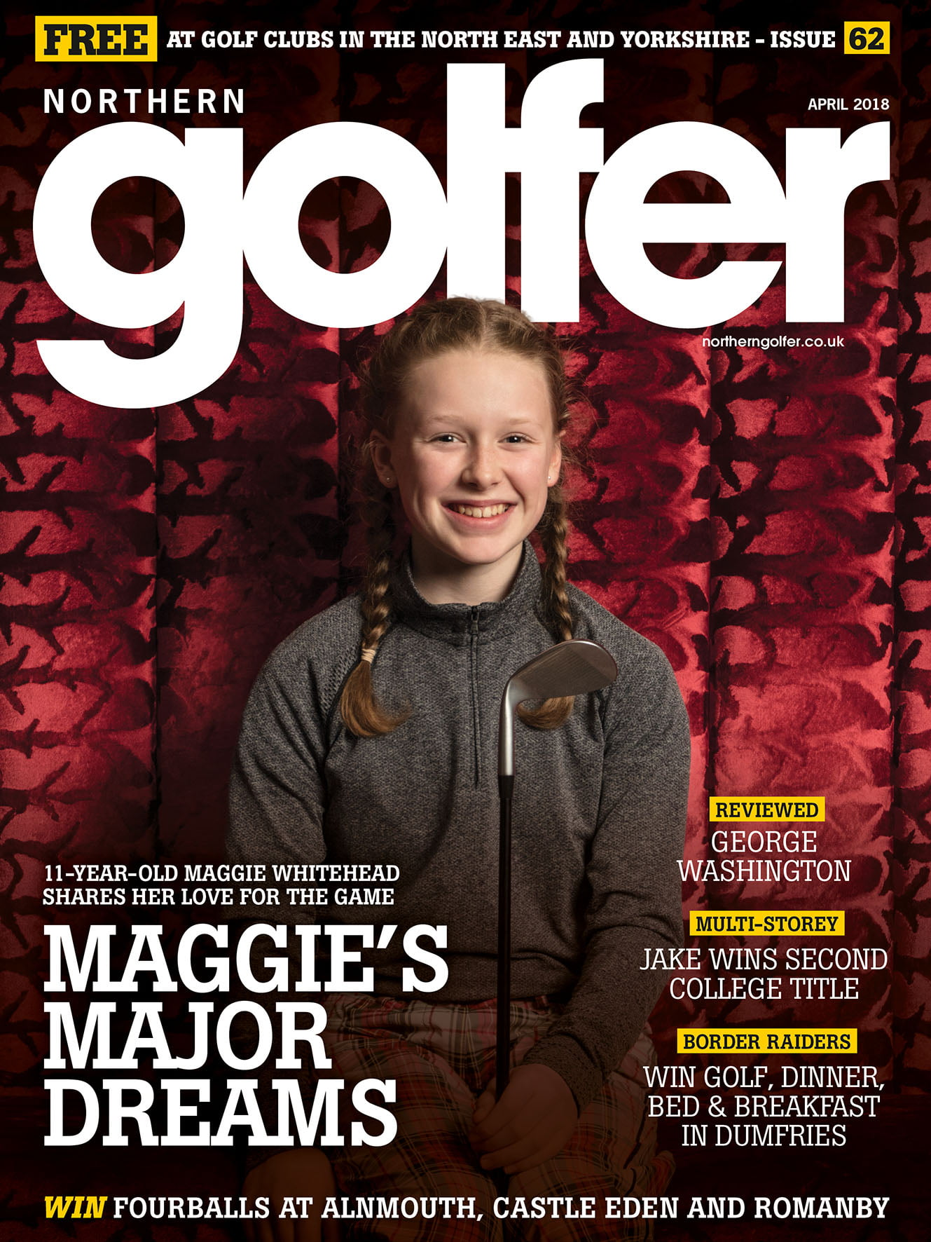 Golfer issue 62 - April 2018