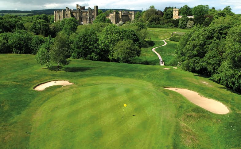 Win golf for four at Brancepeth Castle Golf Club