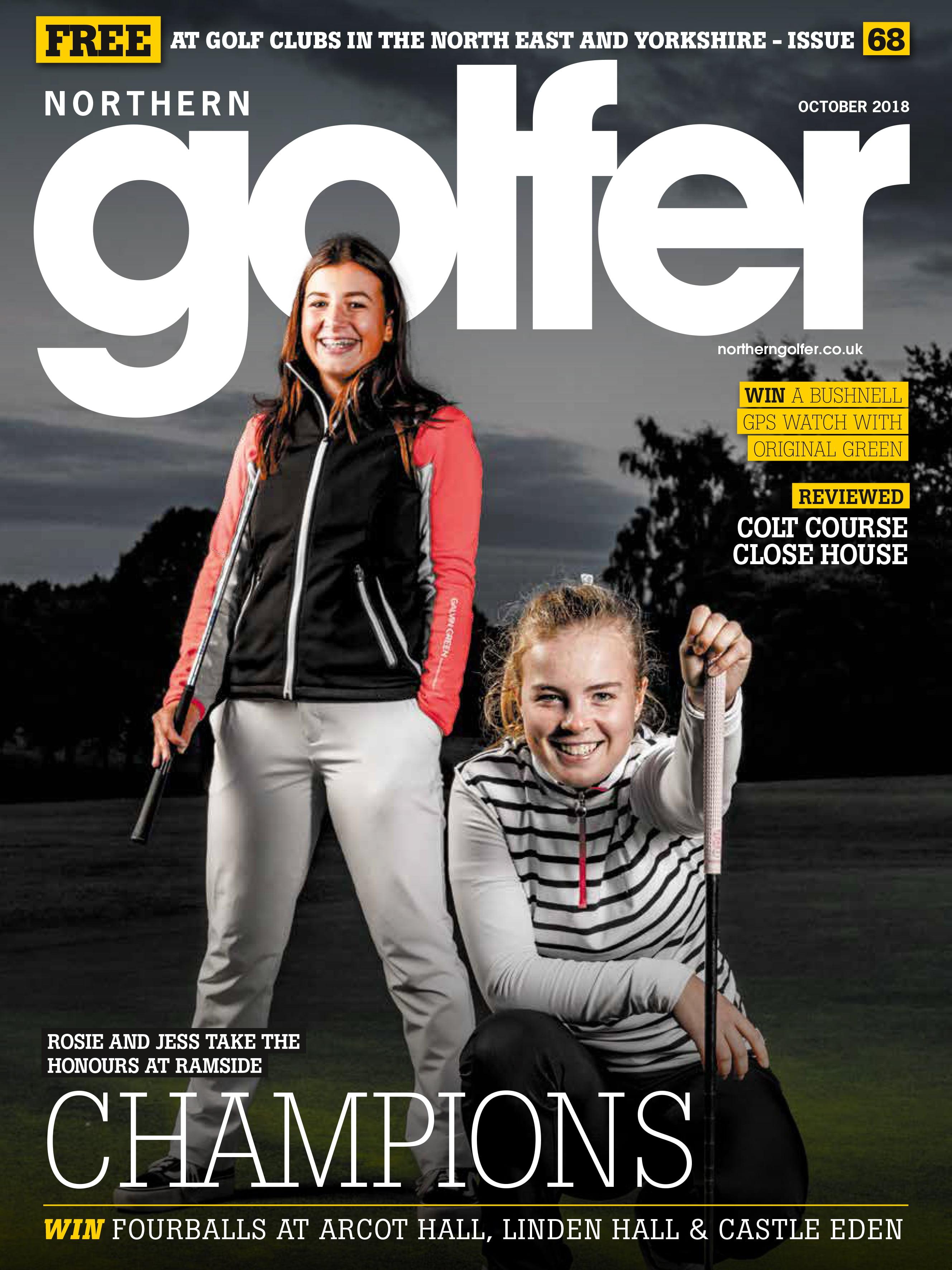 Golfer issue 68 - October 2018