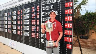 McCarthy sails to Tour Championship