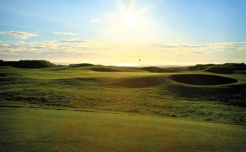 Win golf for four at Goswick Golf Club