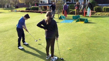 Golf in the community