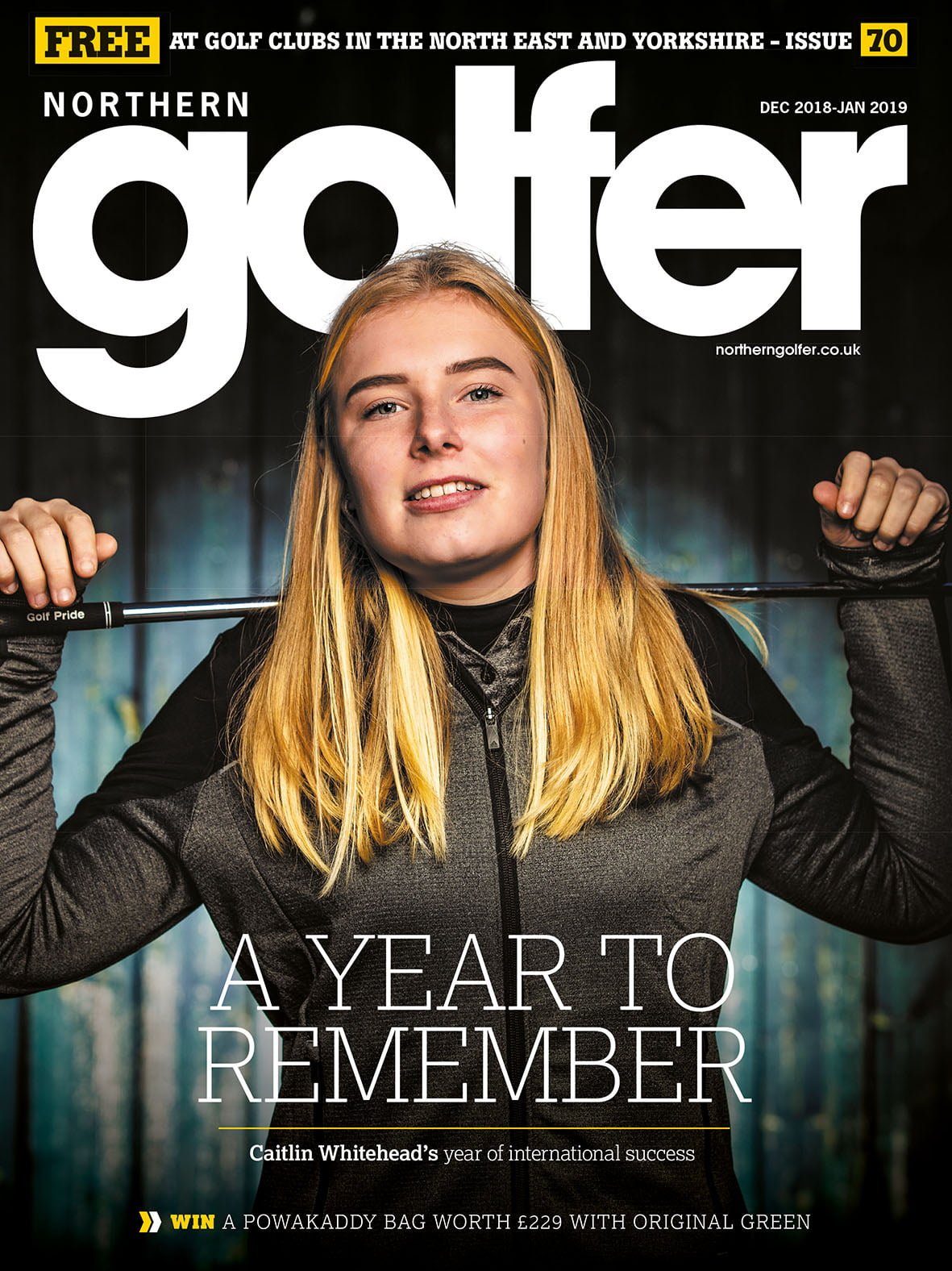 Golfer issue 70 - Dec 2018 / Jan 2019