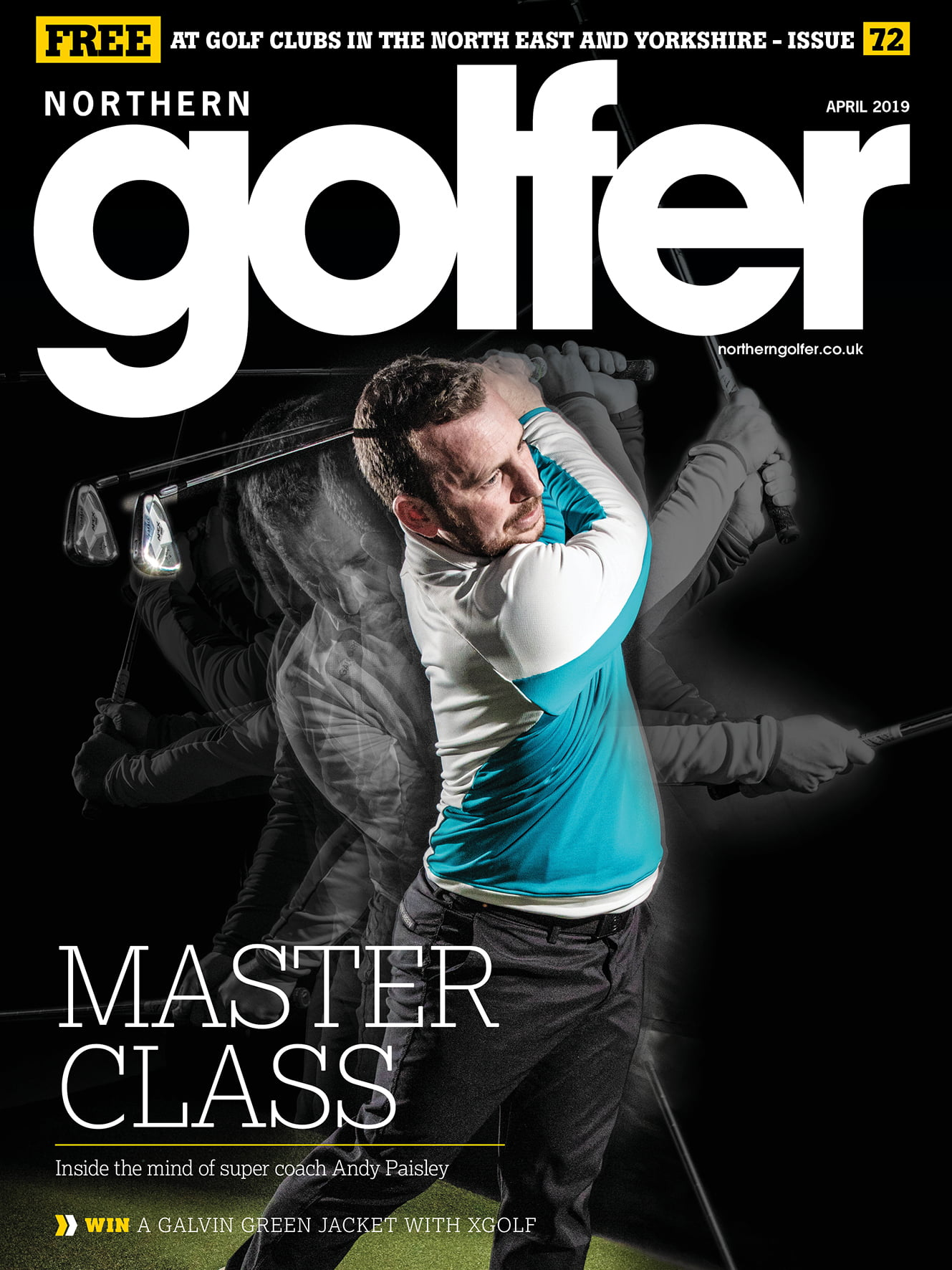 Golfer issue 72 - April 2019