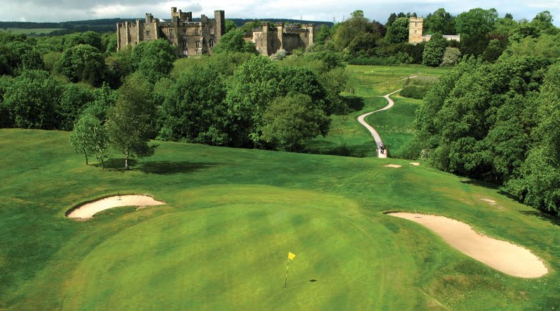 Win golf for four at Brancepeth Castle
