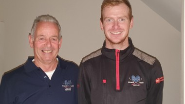 Father and son reach last 16 at Slaley