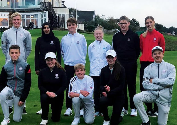 Northumberland girls shine in England defeat