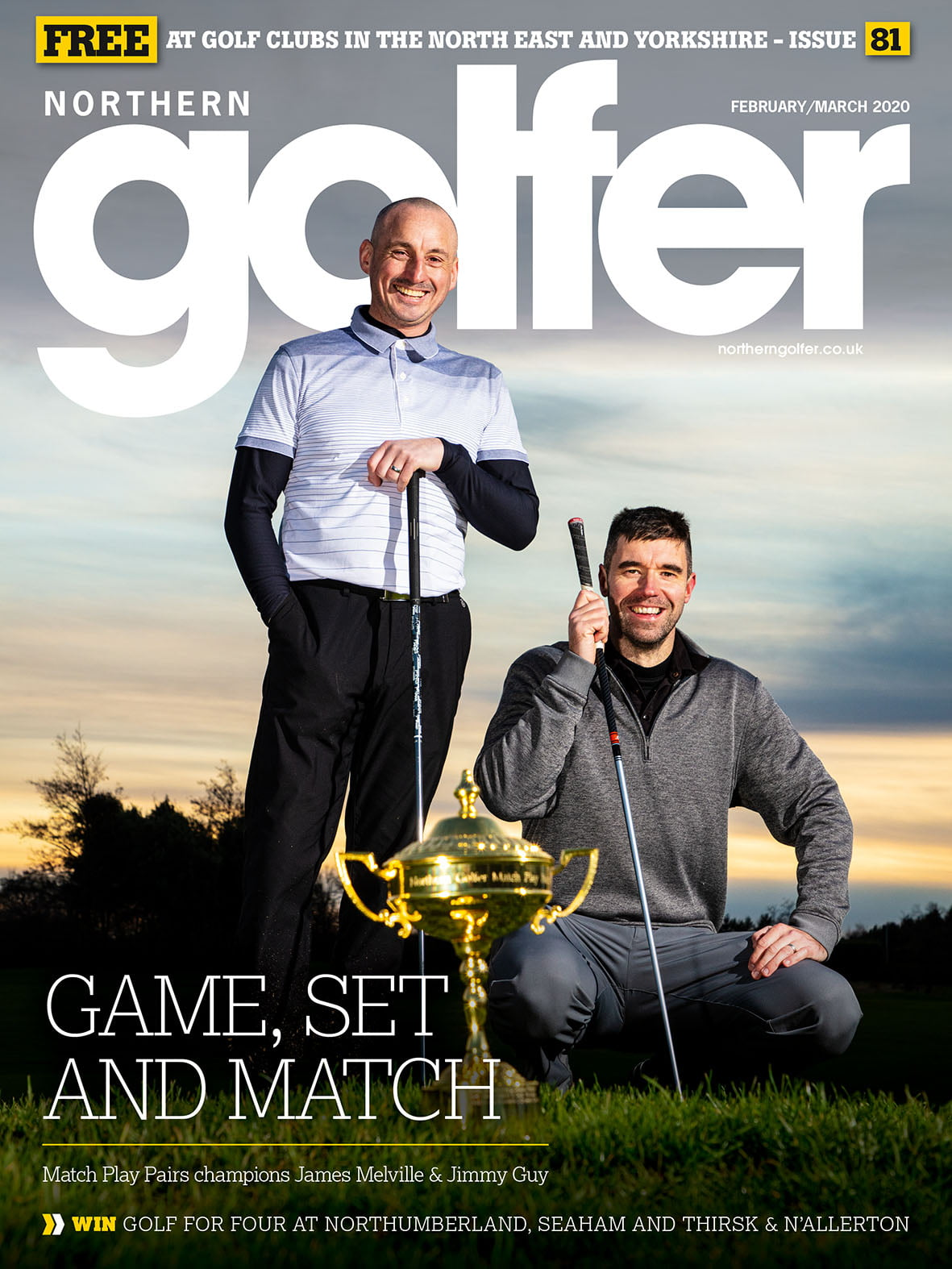Golfer issue 81 - February 2020