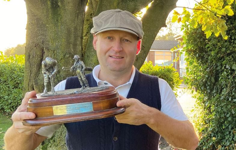Neil Gascoigne wins Scottish hickory title