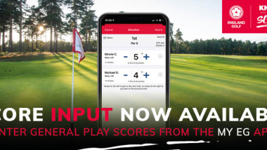 England Golf launches app update to make recording rounds easier