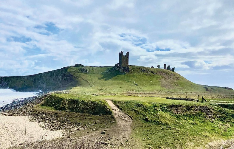 Links fit for a king at Dunstanburgh