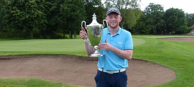 Adam Charlton wins Durham County Championship title