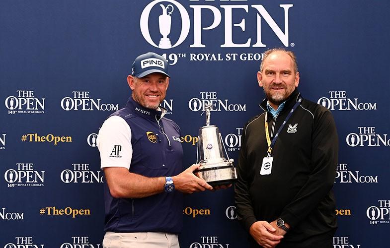 Lee Westwood receives AGW 2020 Golfer of the year award