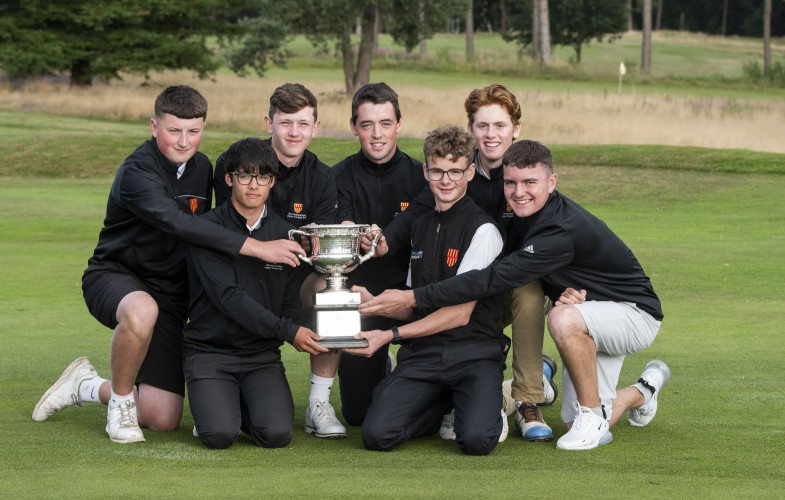 Northumberland storm to first English Boys' County Finals victory