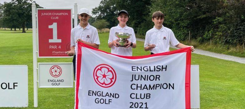 Ramside juniors win national Champion Club title