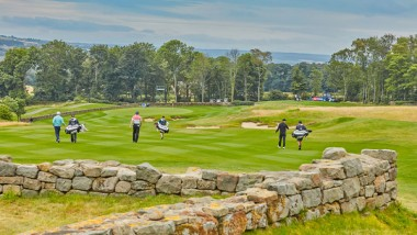 Match Play Pairs final set for Close House
