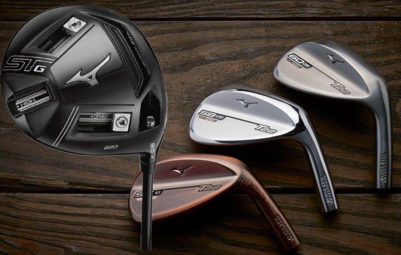 Drive and chip with Mizuno's latest driver and wedges
