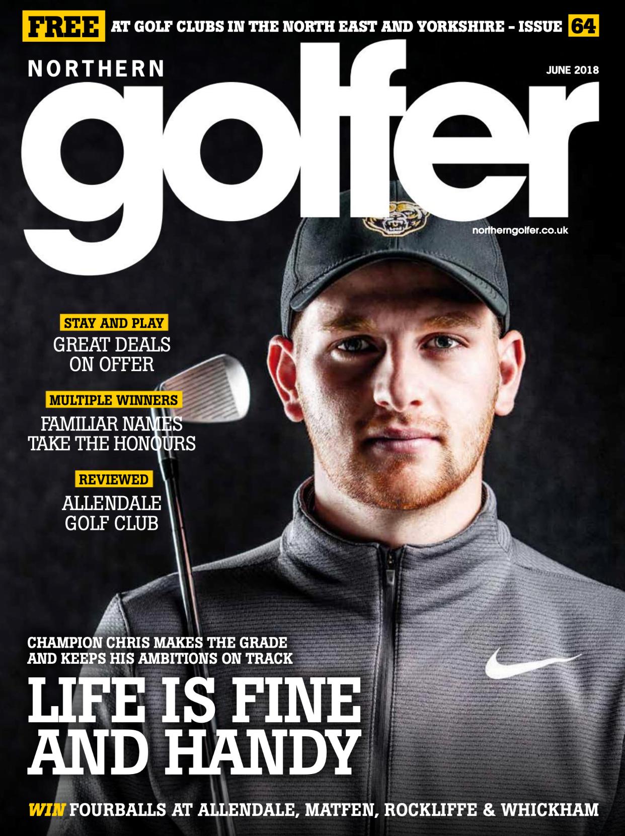Golfer issue 64 - June 2018