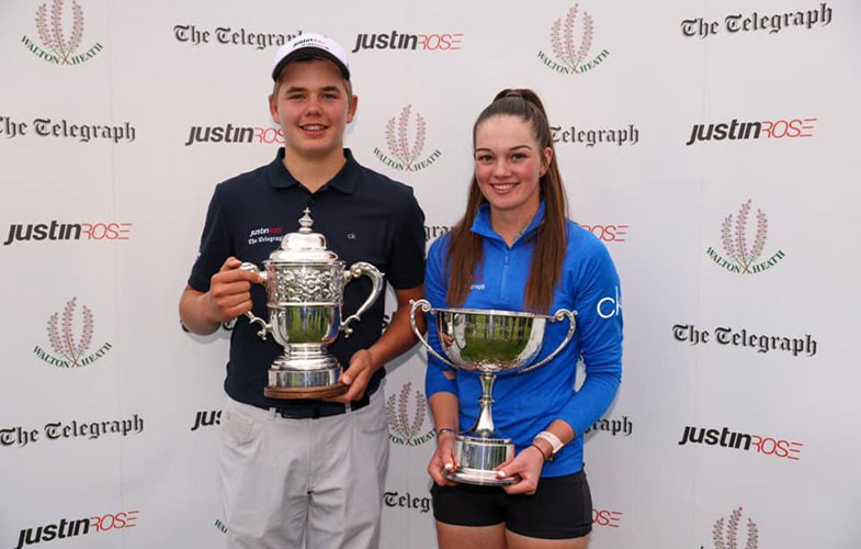 Rachel Gourley wins Justin Rose Telegraph Junior Golf Championship